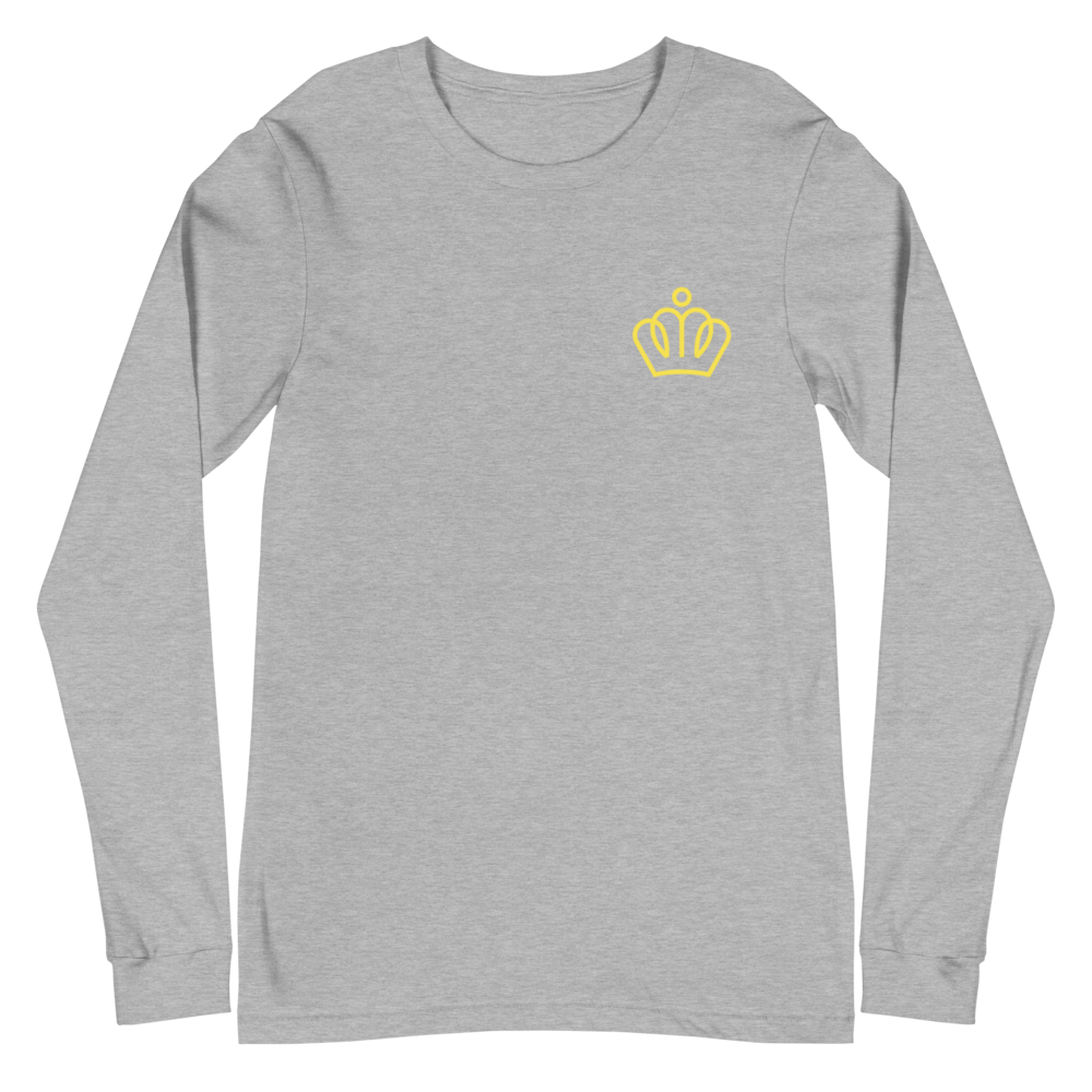 Boardom King of the Concrete Jungle Unisex Long Sleeve Tee