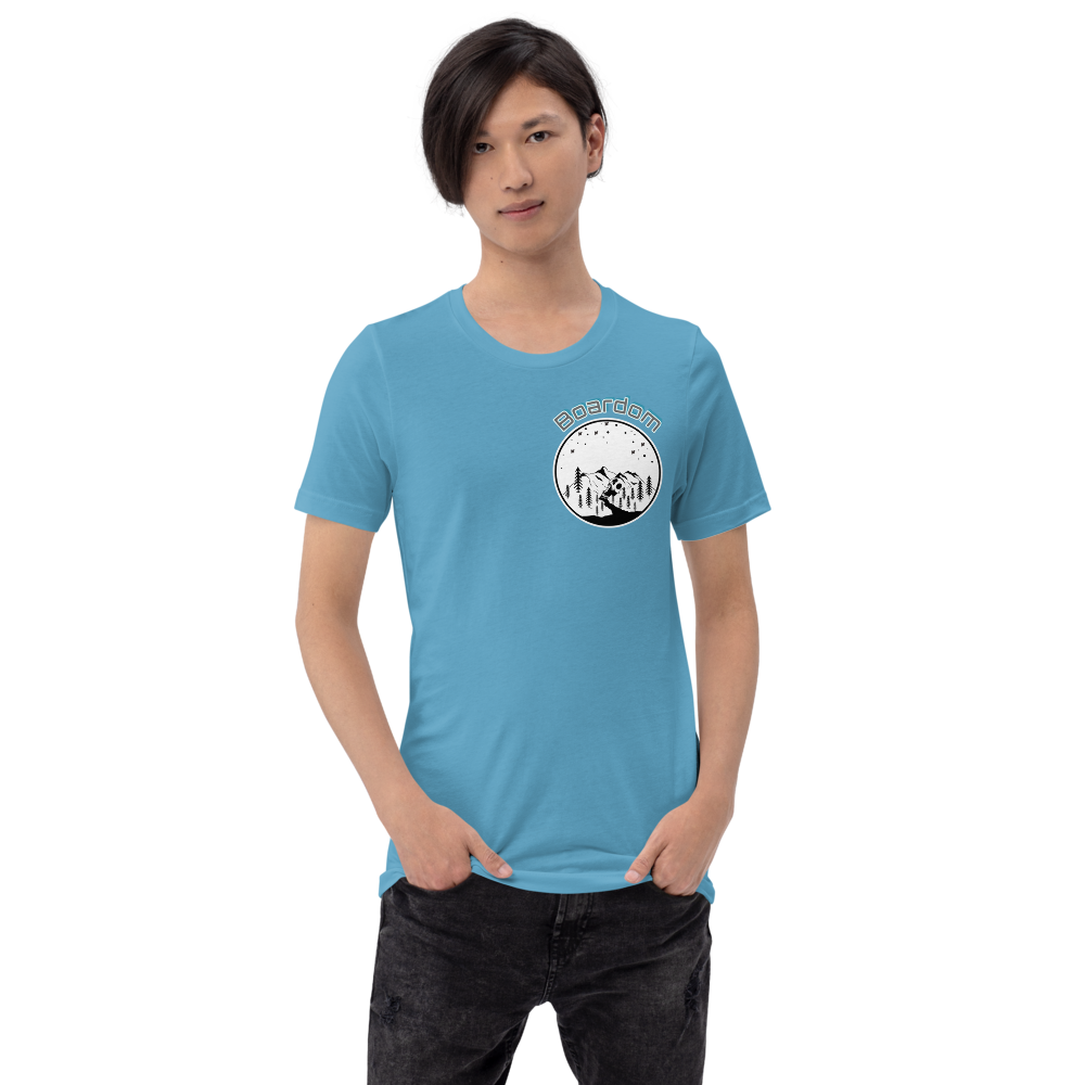 boardom Mountain Short-Sleeve Unisex T-Shirt