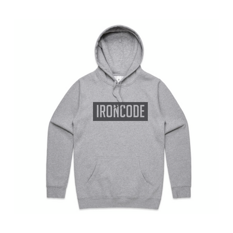 Panel Hoodie - Grey (small panel)