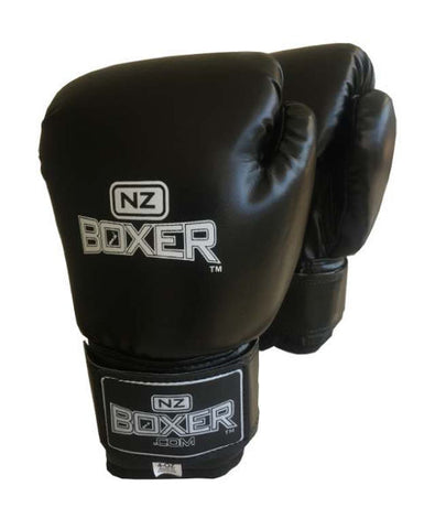 NZ BOXER YOUTH GLOVE 4oz (Black)