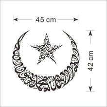 Star & Moon Wall Sticker decal - wall decals home decor