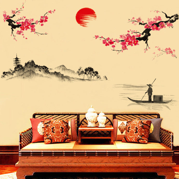 Japanese style wall stickers Decal for home decor