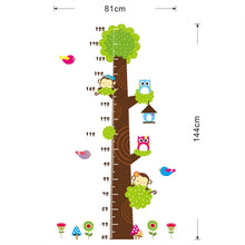 Kids Height Measure Ruler Nursery Growth Chart Wall decals - wall decals home decor