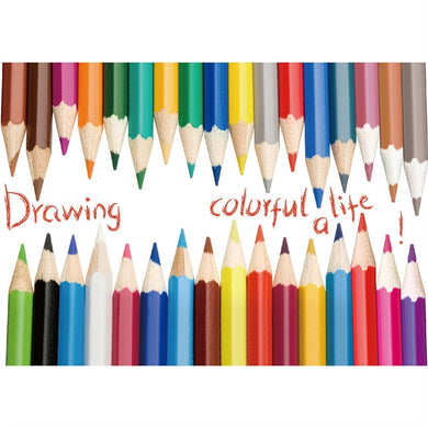Drawing A Colorful Life with Colorful Pencil Wall Decals kids room