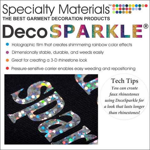 DecoSparkle® HTV (Holographic)