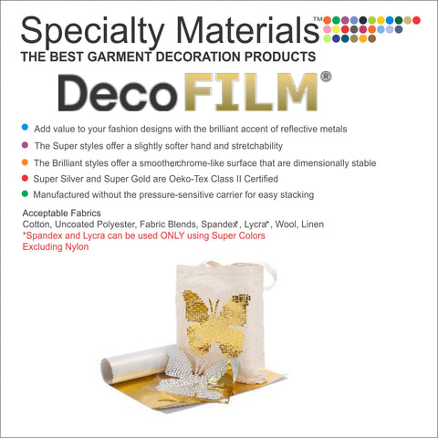 DecoFilm® HTV (Metal Shine)