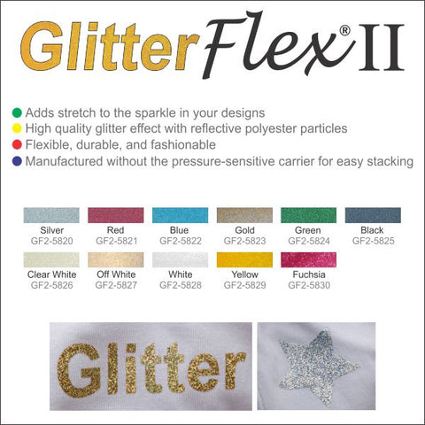 Stretch Glitter HTV