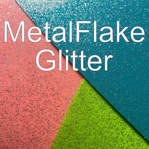 Smooth Glitter HTV (ThermoFlex Metal Flake)