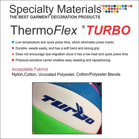ThermoFlex Turbo (Lower Temp, Applies to NYLON)