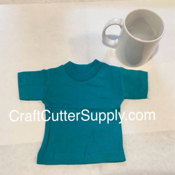 Mini Tee Teal - CraftCutterSupply.com