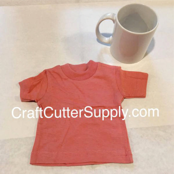 Mini Tee Coral - CraftCutterSupply.com