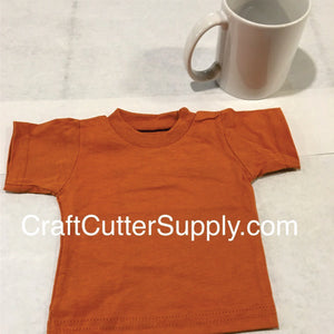 Mini Tee Texas Orange - CraftCutterSupply.com