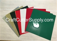 Christmas HTV Pack 12x15 Sheets - CraftCutterSupply.com