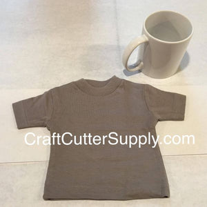 Mini Tee Grey - CraftCutterSupply.com