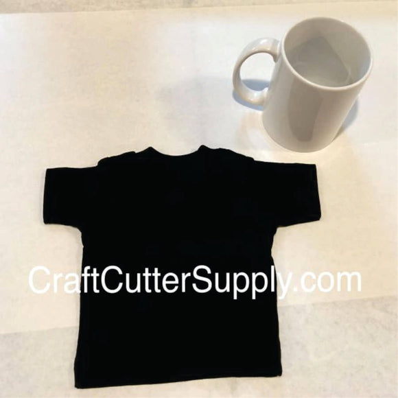 Mini Tee Black - CraftCutterSupply.com