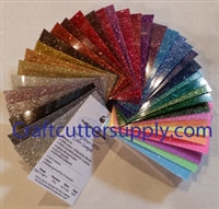 Siser Glitter HTV Color Sample ring 39 colors