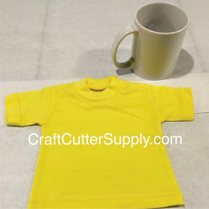 Mini Tee Yellow - CraftCutterSupply.com