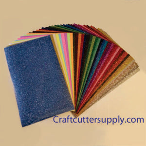 Glitter HTV 12x20 All Color Pack (47 Colors) - CraftCutterSupply.com