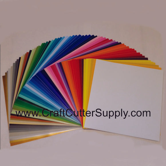 631 Oracal All Colors 12x12 Pack - CraftCutterSupply.com