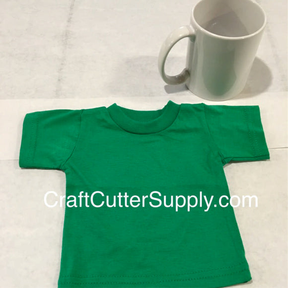 Mini Tee Green - CraftCutterSupply.com