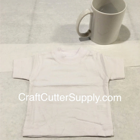 Mini Tee White - CraftCutterSupply.com