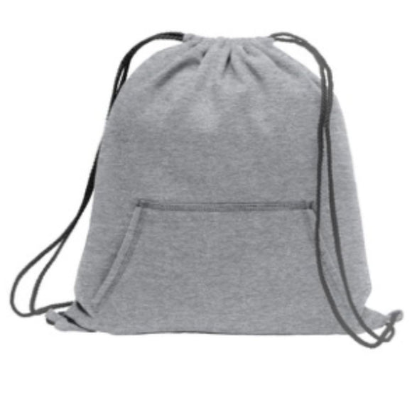Sweatshirt Cinch Pack-Athletic Heather (Light Grey) - CraftCutterSupply.com