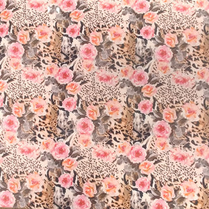 ThermoFlex® HTV Fashion Patterns 12x15 Sheets-Roses/Leopard