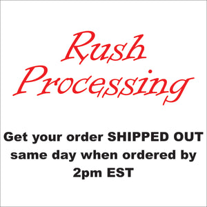 Rush Processing - CraftCutterSupply.com