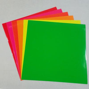 Oracal® 6510 Fluorescent Neon All Color Pack - CraftCutterSupply.com