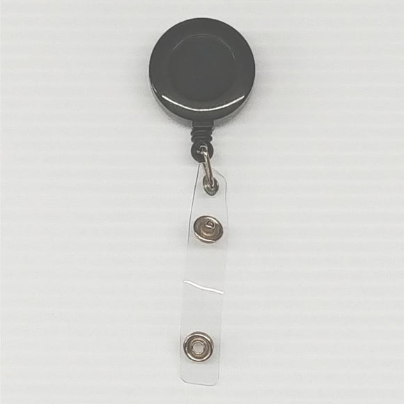 Badge Reel-Black - CraftCutterSupply.com