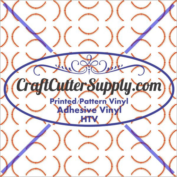 Baseball Stitches 12x12 - CraftCutterSupply.com