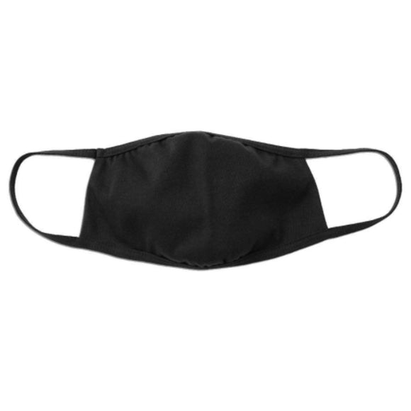 Bella + Canvas Mask - Youth -  Black