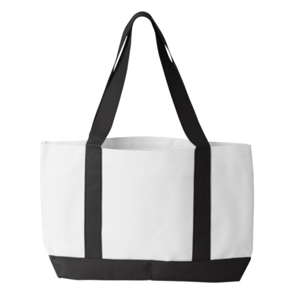 Liberty Bag P&O Cruiser Tote White/Black
