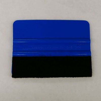 Application Squeegee-Blue With Felt - CraftCutterSupply.com
