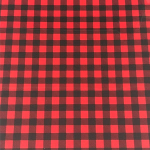 ThermoFlex® HTV Fashion Patterns 12x15 Sheets-Buffalo Plaid Red - CraftCutterSupply.com