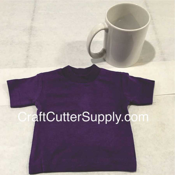 Mini Tee Purple - CraftCutterSupply.com
