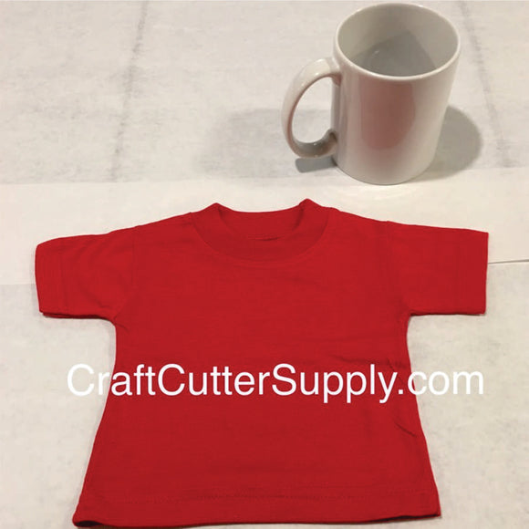 Mini Tee Red - CraftCutterSupply.com