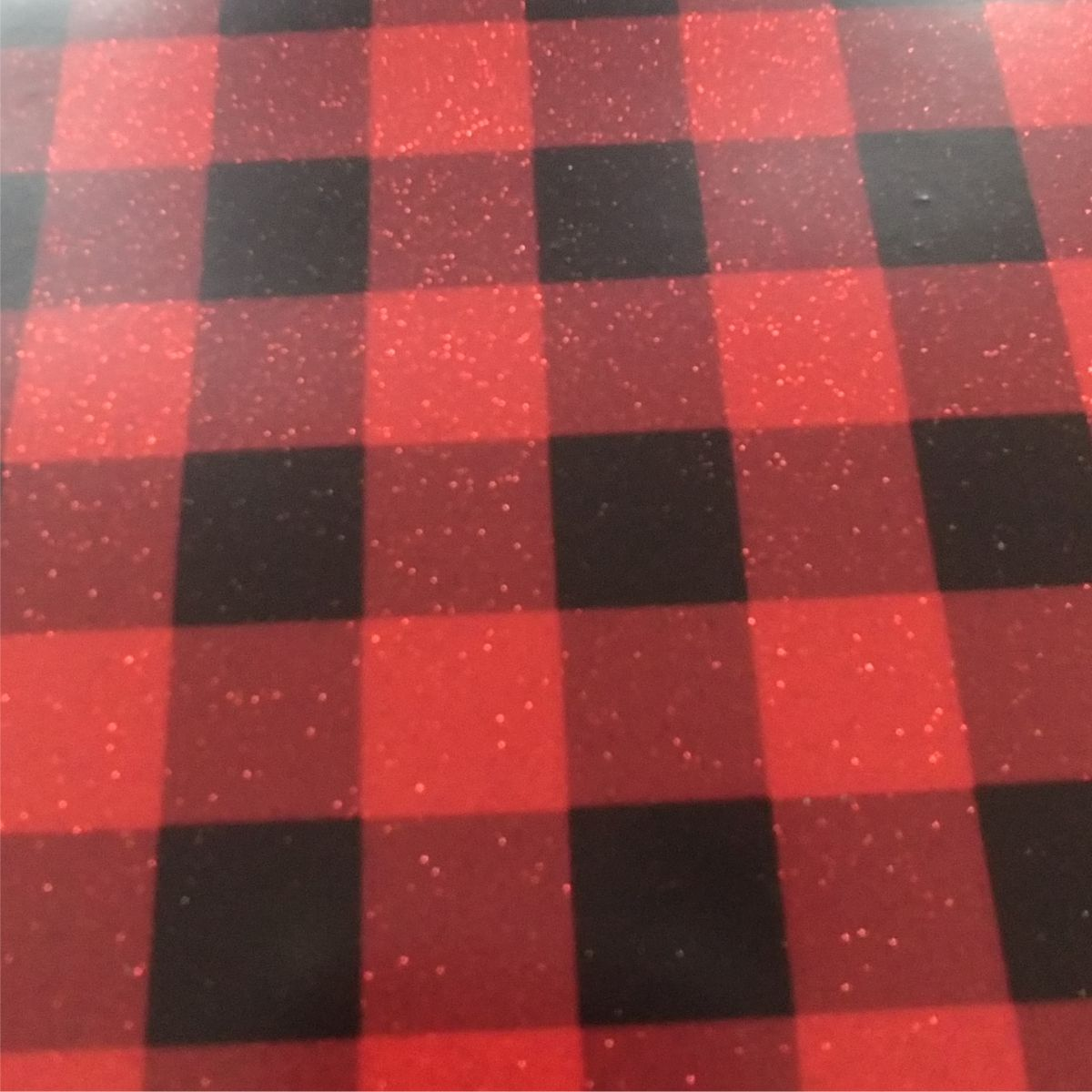 Quot Holiday Special Quot Glitter Buffalo Red Plaid Print Htv