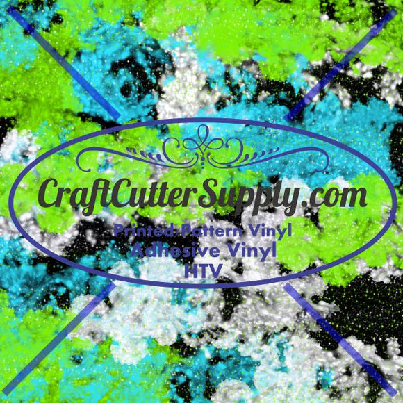 Distressed Blue Green 12x12 - CraftCutterSupply.com