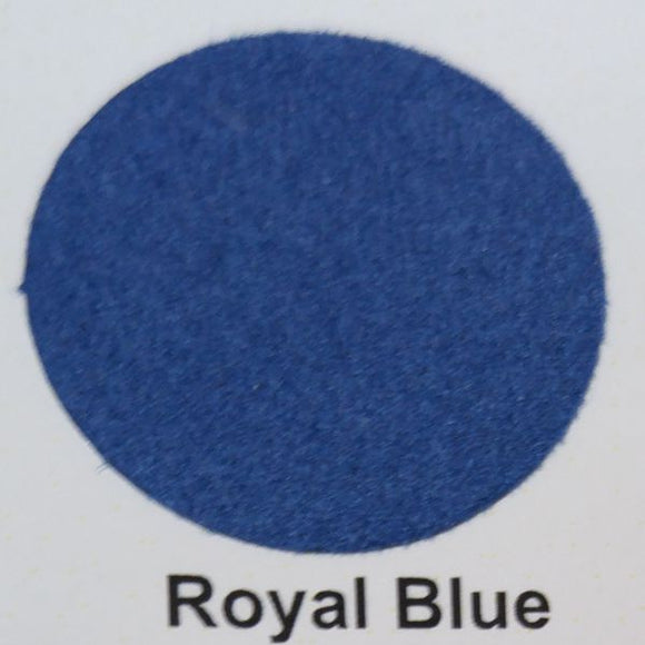 Premium Deco Flock Royal Blue 12x15 HTV - CraftCutterSupply.com