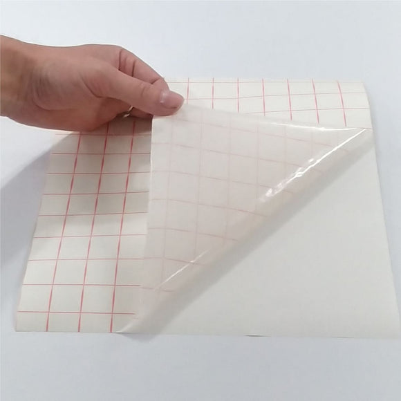High Tack Paper Transfer Tape With Grid - CraftCutterSupply.com