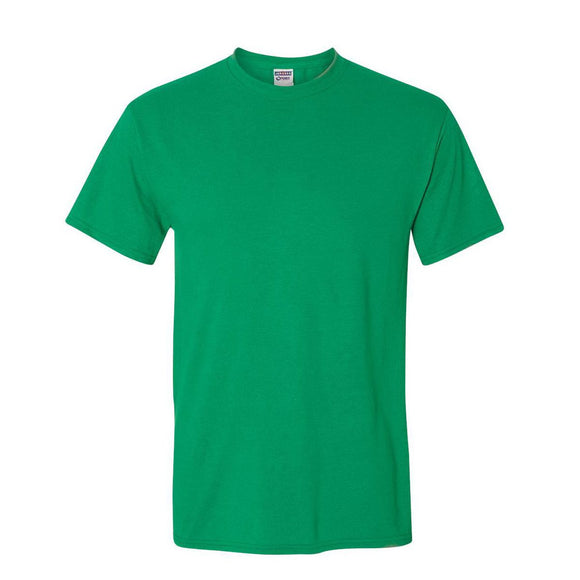 Adult Jerzees Brand 5.6oz 50/50 T-Shirt Color-Kelly - CraftCutterSupply.com