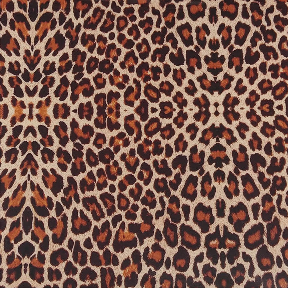 Specialty PSV™ Fashion Patterns-Leopard 12in x 15in Sheet (Permanent Adhesive Pattern Vinyl)