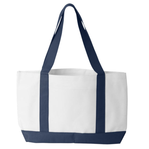 Liberty Bag P&O Cruiser Tote White/Navy