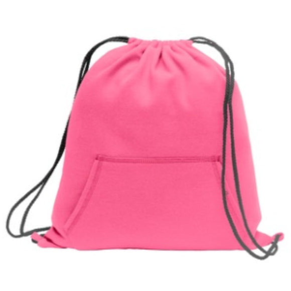 Sweatshirt Cinch Pack-Neon Pink