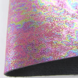 Oil Slick 4 PU faux leather 11.75in x 12in Sheets - CraftCutterSupply.com