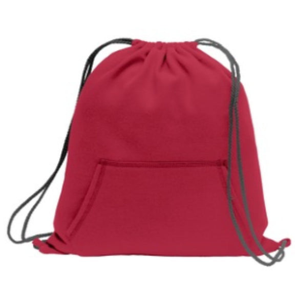 Sweatshirt Cinch Pack-Red