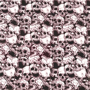 ThermoFlex® HTV Fashion Patterns 12x15 Sheets-3D Skulls - CraftCutterSupply.com