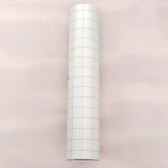 Transfer Tape With Grid And Liner 12in x 30ft Roll - CraftCutterSupply.com