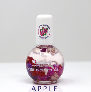 Blossom Cuticle Oil All-Natural Hydrate, Repair Dry Cuticles Fruit Scents 0.42 OZ